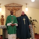 Installation of Fr. Joe as an administrator photo album thumbnail 8